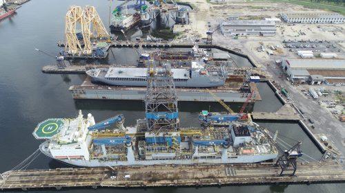 Alabama Shipyard Dry Dock cape victory ship