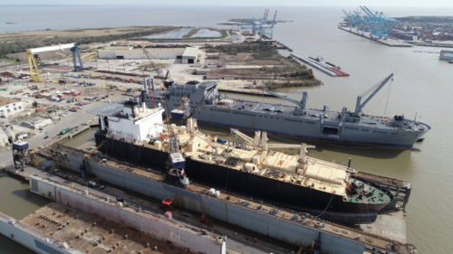 Lopez on dry-dock