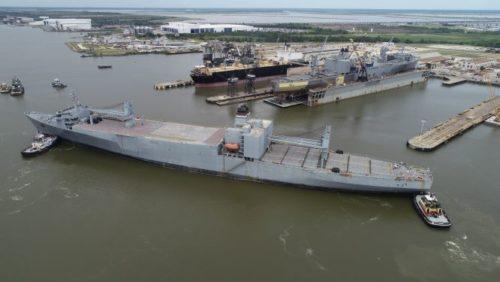 SS Bellatrix Arrival