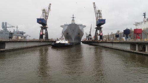 Bellatix dry-docking