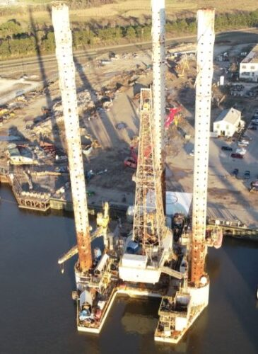Aerial of 202 Rig (Recycling)